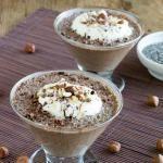 Sugar-Free Nutella Chia Pudding {Dairy Free & Low Carb}