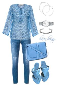 """""""Comfortable Attitude"""" by hinson-hunny ❤ liked on Polyvore featuring Dondup, Bella Tu, Christian Dior, Gap, claire's, Longines and Maison Margiela"""
