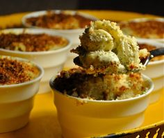 pesto goat cheese mac n cheese. world's most delicious mac n cheese, period.
