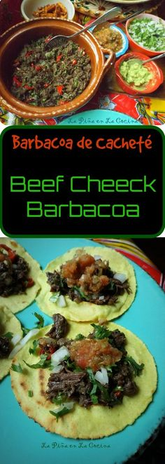 Barbacoa de Cachete-Beef Cheek Barbacoa in the Slow Cooker – Dinner Recipes Slow Cooker Barbacoa, Slow Cooker Tacos, Slow Cooker Beef, Slow Cooker Recipes, Beef Cheek Tacos Recipe, Beef Cheeks Recipe Slow Cooker, Beef Cheek Barbacoa Recipe, Stew Meat Recipes, Mexican Food Recipes