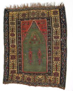 The Neugebauer Erzerum kelim, Turkey. 19th century. 156 x 128 cm. Next Bruun Rasmussen auction including carpets 4-7 June 2013.