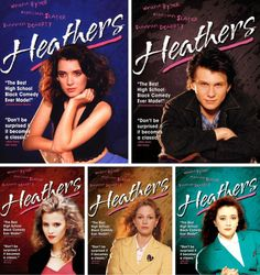 And it did become a classic Heathers Quotes, Heathers The Musical, Musical Film, Musical Theatre, 80s Movies, I Movie, Jd And Veronica, Heather Duke, Heather Chandler