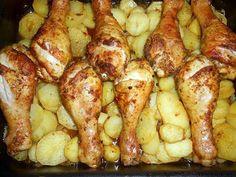 recette Pilons de poulet au four