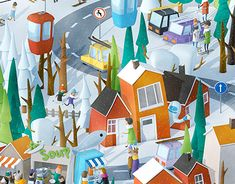 """Check out this @Behance project: """"Winter Wonderland"""" https://www.behance.net/gallery/35151137/Winter-Wonderland"""