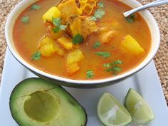 Mondongo Colombiano, which is pork, tripe and chorizo soup, is served in every traditional Colombian restaurant. It is a hearty soup and a signature dish in Tripe Soup, Chorizo Soup, My Colombian Recipes, Colombian Cuisine, Tripe Recipes, Honduras Food, Honduran Recipes, Using A Pressure Cooker, Puerto Rican Recipes