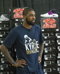 6ff2a3b75aa Kyrie Irving along with Foot Locker were able to donate 190 sneakers the  Boys and Girls Clubs of Cleveland.