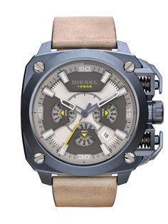Diesel Watches DZ7342 BAMF, Light Brown