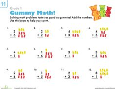 We did this worksheet for Teddy Bear day today!  It was paired with a gummy bear graphing worksheet.
