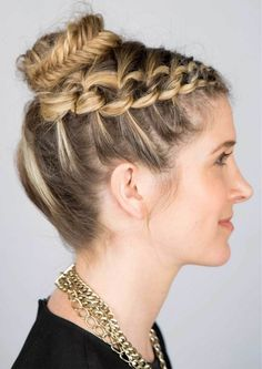 Glam up your look with a stunning shoelace braid.