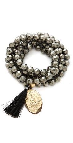 Bead Tassel Necklace / Bracelet $155.00