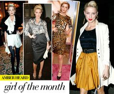 Meet our favorite fashionable femme in today's Girl of the Month story, featuring up and coming actress Amber Heard! via @WhoWhatWear