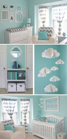 Cool 48 Stylish Baby Room Design And Decor Ideas.