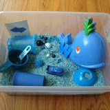 My Blue Boat- weekly activities/ sensory bin