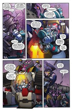 Nickel patches up the DJD – Nickel's cute. Even though the DJD are.this lil' character just adds another dimension to them. Transformers Humanized, Transformers Memes, Transformers Decepticons, Transformers Optimus Prime, Transformer Party, Robot Concept Art, Comic Book Characters, Comic Books, Comics Universe
