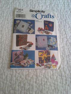 Simplicity 7864 7864 diy scrapbook covers by BloomingRoseCrochet