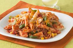 Chicken 'N Peppers Pasta Skillet.