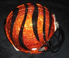 Swarovski Covered Bengals Helmet!
