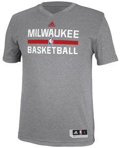 adidas Men's Milwaukee Bucks Practice Graphic T-Shirt - Sports Fan Shop By  Lids - Men - Macy's