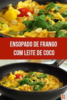 Ensopado de Frango com Leite de Coco