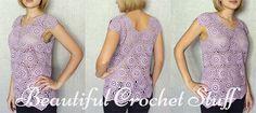 Crochet Blouse Free Pattern | Beautiful Crochet Stuff