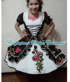 Creado y diseñado por Evelyn Contreras, desde Parral, Chile China, Victorian, Kids, Dresses, Fashion, Folklore, Cute Blouses, Dress Making, Outfits