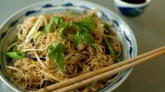 Longevity Noodles With Chicken, Ginger and Mushrooms Recipe - NYT Cooking