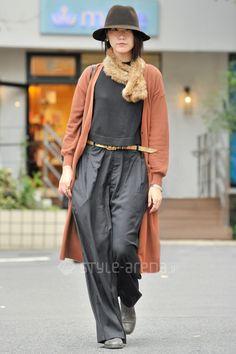 YUKさん | LE CIEL BLEU OPENING CEREMONY handmade vintage KIJIMA TAKAYUKI somnium vialis CELINE | 2015年11月第4週 | 代官山 | 東京ストリートスタイル | 東京のストリートファッション最新情報 | スタイルアリーナ