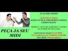 MIDI E PLAYBACK-JOÃO NETO & FREDERICO-MODA DERRAMADA