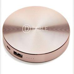 #powercircle #powerbank #dtable #secondabase #luxury #design #technology #silver #pinkgold #danilocascella #madeinitaly