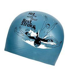 Sporti Hit Me Latex Swim Cap