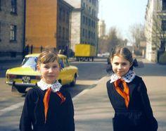 Pionier Mädchen in der #Sowietunion ---- #Pioneers in the #Soviet_Union. 80s