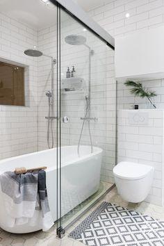 pesuhuone - Google-haku Clawfoot Bathtub, Small Bathroom, Bathroom Ideas, Mudroom, Alcove, New Homes, Loft, Decor, 3
