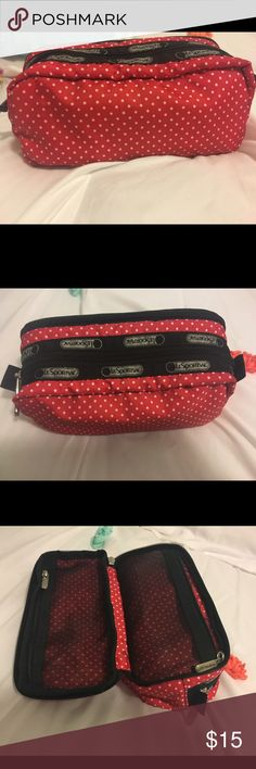new  lesportac make up bag new and good conditions LeSportsac Bags Cosmetic Bags & Cases