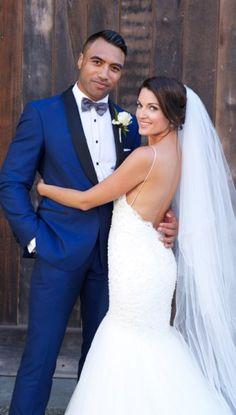Amber's Wedding Dress | Anna Schimmel