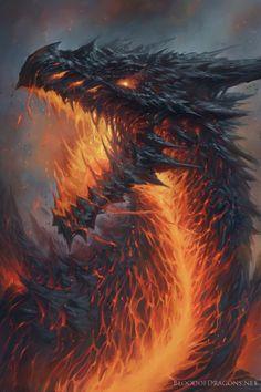 La sangre de los dragones: nacida de la lava por Tyler Walpole