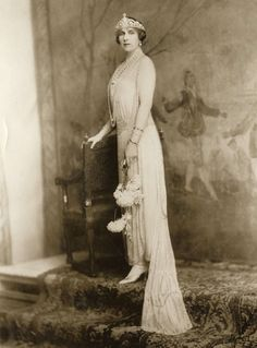 Miss Honoria Glossop:  Queen Ena of Spain
