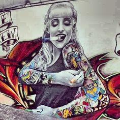 Urban. Urban art. Graffiti. Street art