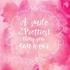 STUDIES SHOW that 70% of people think that smiling faces are more attractive than faces wearing makeup!