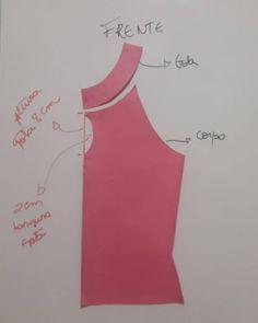 Te explicamos como hacer una blusa, con moldes paso a paso!! #moldes #blusa #blouses #facil  #easy