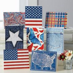 Americana Note Cards $6.99