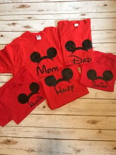 First Disney trip, please let me know if you want only the ears or the ears with first trip and the year. Color of shirt can be changed. Sizes newborn to 3xl This is also for one shirt, I can create a listing for multiple if needed or you can add to this listing. Thank you