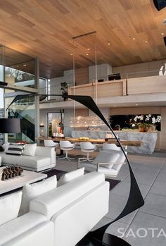 Love the kitchen island!! Architecture Beast: Modern house designs: De Wet 34 by SAOTA  