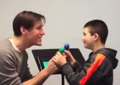 Connecting and bonding with a child with autism through music.  #musictherapy #specialneeds #autism