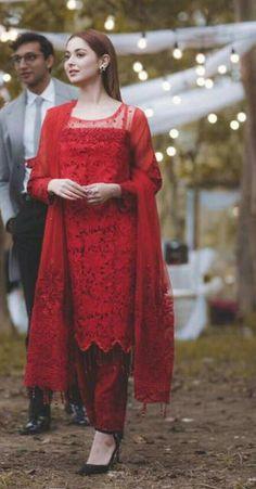 Simple Pakistani Dresses, Pakistani Dresses Online, Pakistani Wedding Outfits, Pakistani Dress Design, Stylish Dress Designs, Designs For Dresses, Stylish Dresses, Casual Dresses, Stylish Outfits