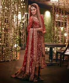 ANHAD Multidesigner Bridal,luxury Pret and Pret Store at Delhi's Wedding Shopping hub South Extension. Asian Wedding Dress Pakistani, Indian Bridal Lehenga, Pakistani Wedding Dresses, Pakistani Outfits, Designer Wedding Dresses, Designer Gowns, Dulhan Dress, Muslim Women Fashion, Dress Shirts For Women