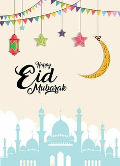 Eid Mubarak to all our families celebrating the end of Ramadhan. Have a joyous and blessed day. Eid Mubarak Foto, Images Eid Mubarak, Eid Mubarak 2018, Eid Images, Mubarak Ramadan, Eid Mubarak Card, Eid Mubarak Greeting Cards, Eid Mubarak Greetings, Happy Eid Mubarak