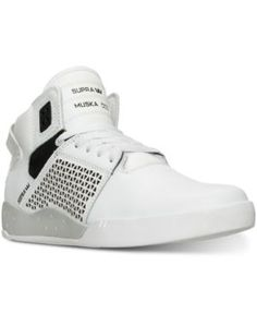 5d23e21293aefd Supra Men s Skytop III High-Top Casual Sneakers from Finish Line Men -  Finish Line Athletic Shoes - Macy s