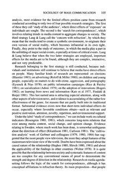 sociology of mass communication pdf