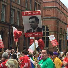 #alanturing #prideheroes #pridehero #mancspride