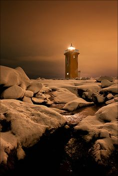 iceland lighthous, beaches, beach resorts, winter, lighthouses